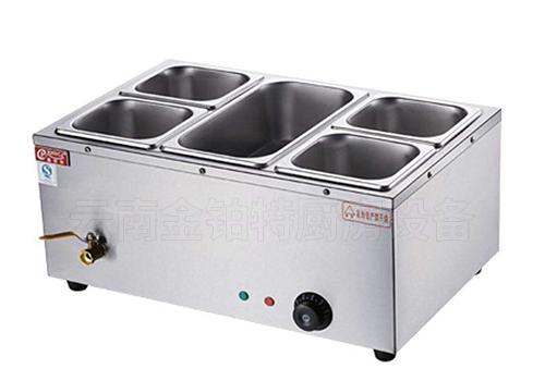 台式一大四小暖汤炉