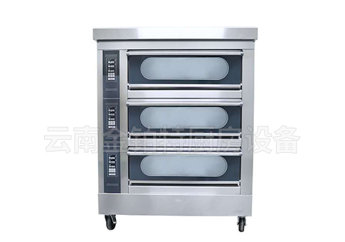 豪华款三层六盘烤箱