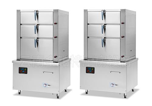 食堂电磁海鲜蒸柜