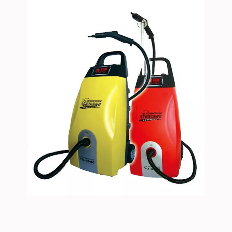 使用流动蒸汽洗车机如何清洗汽车顶棚