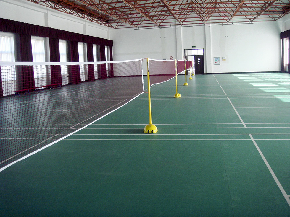 室内羽毛球场运动地板