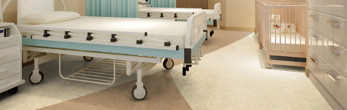 医院PVC塑胶地板
