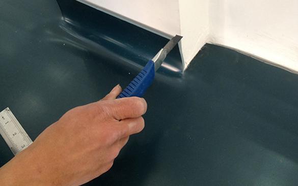PVC塑胶地板安装施工