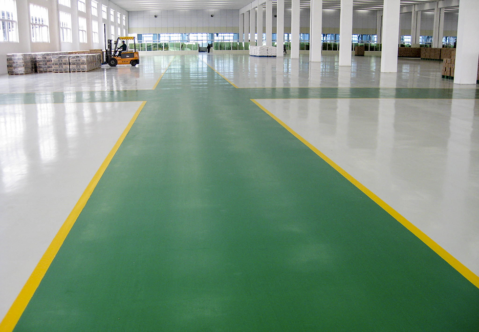 工业工厂耐磨耐用的PVC塑胶地板