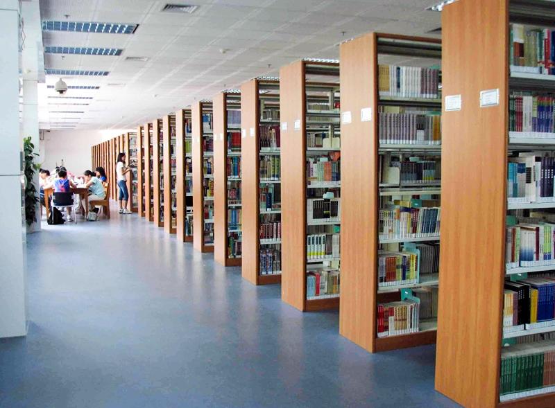 图书馆塑胶地板