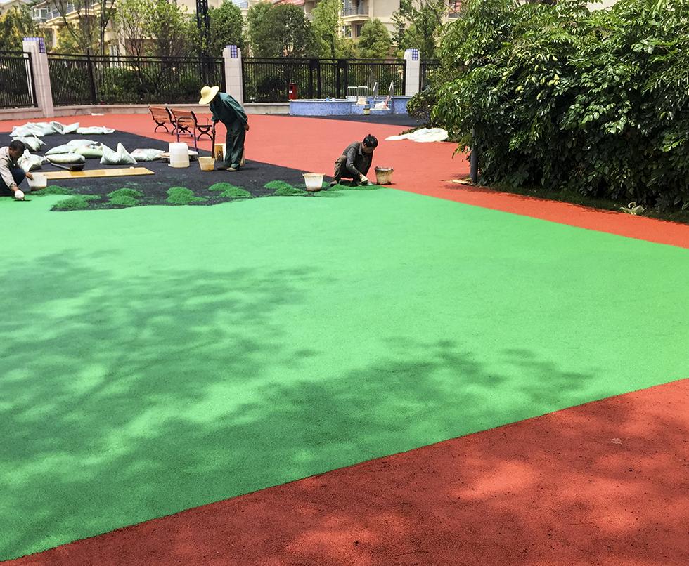 如何做好幼儿园PVC塑胶地板的颜色搭配工作