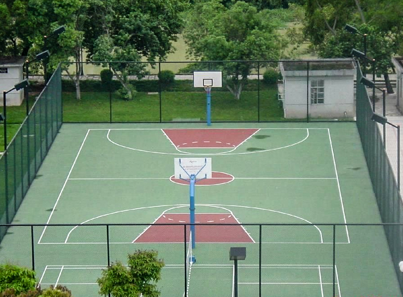 籃球場塑膠運動地板