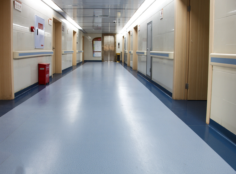 醫院過道PVC塑膠地板