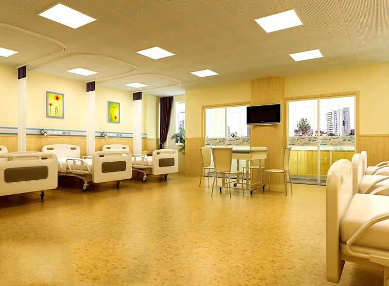 医院病房PVC塑胶地板