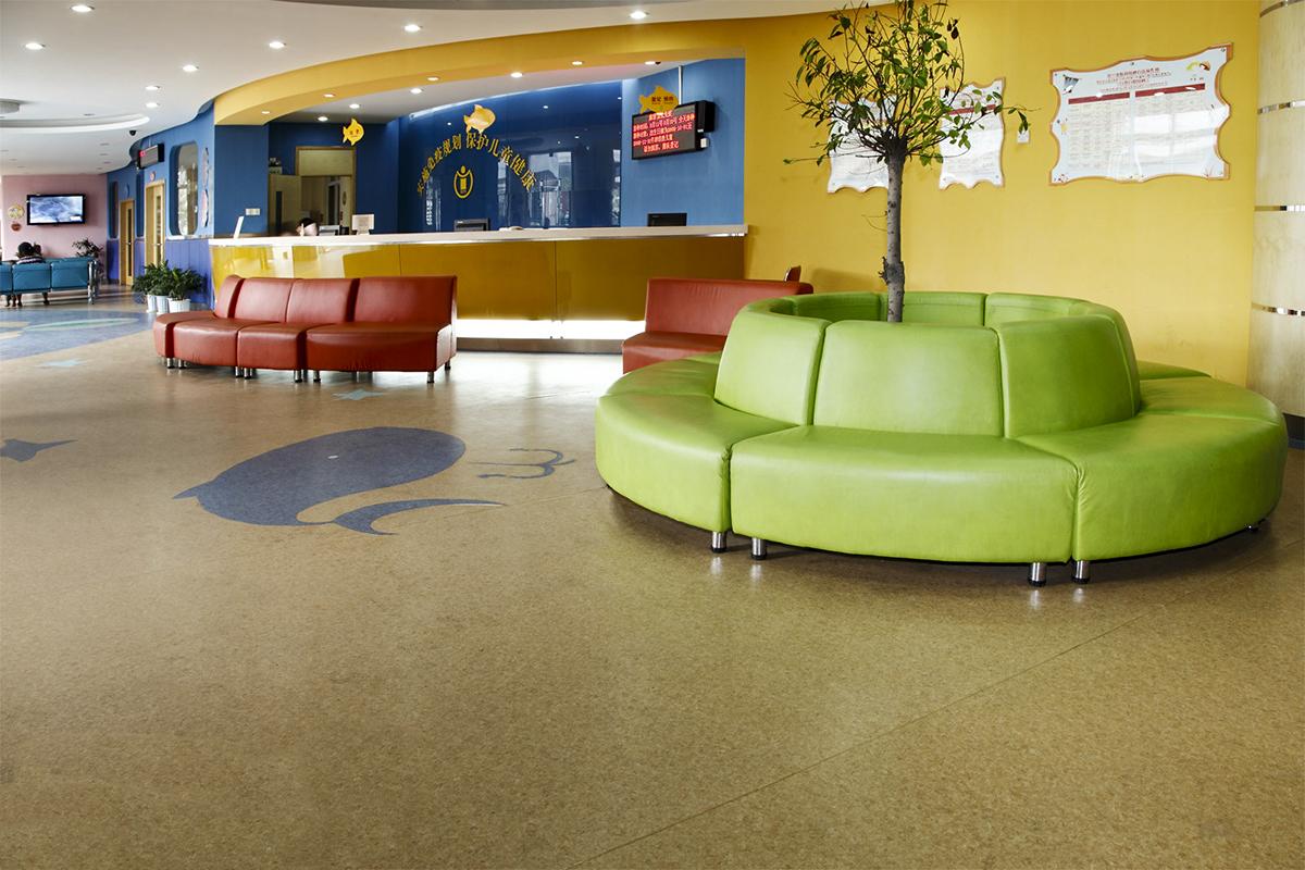 幼教專用PVC塑膠地板