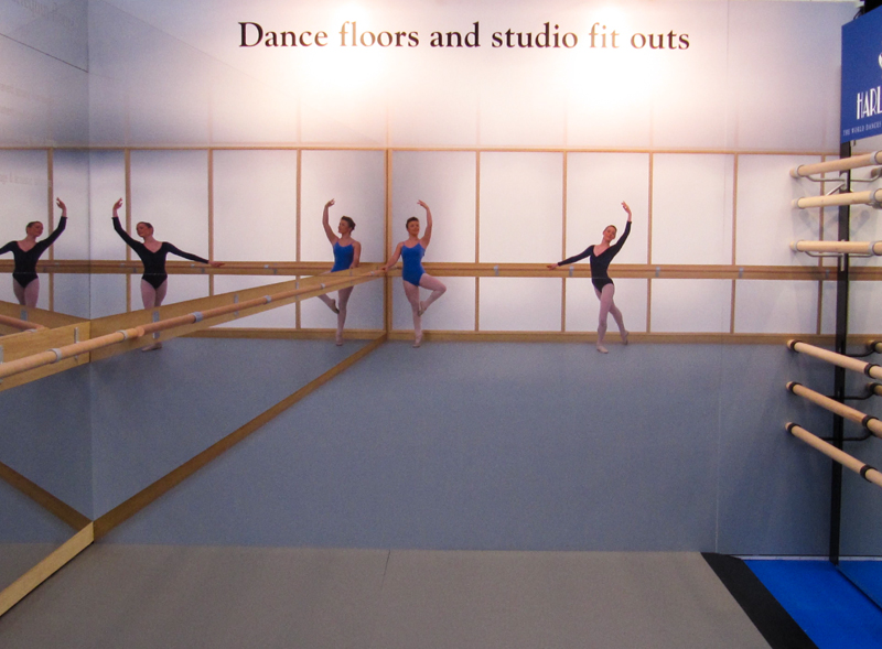 舞蹈教室专用PVC塑胶地板