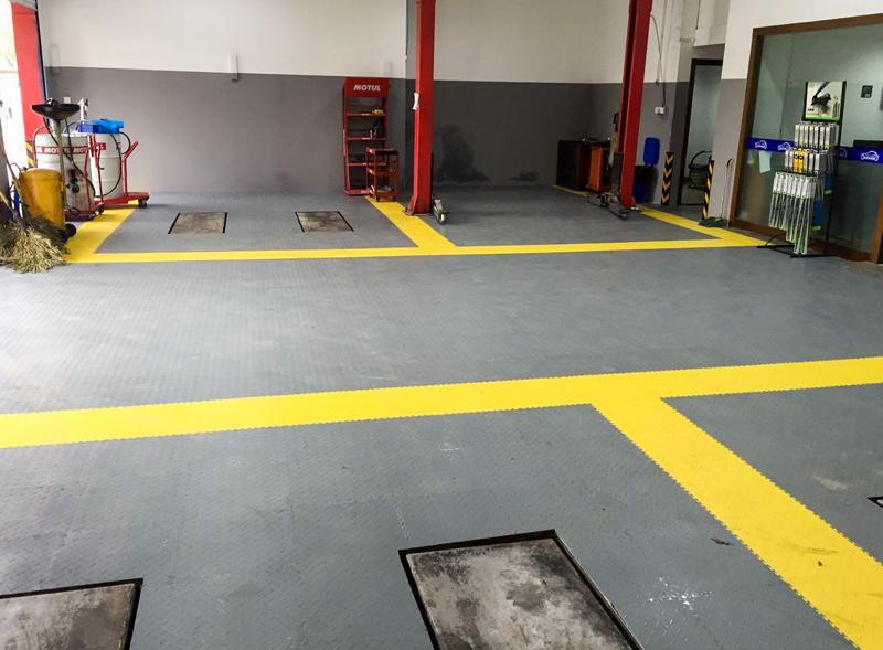 PVC工业塑胶地板