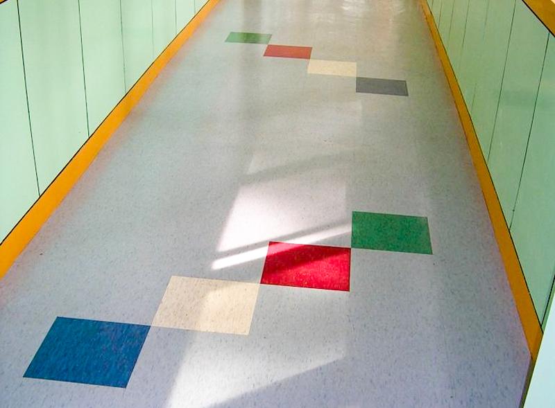 工业车间塑胶地板