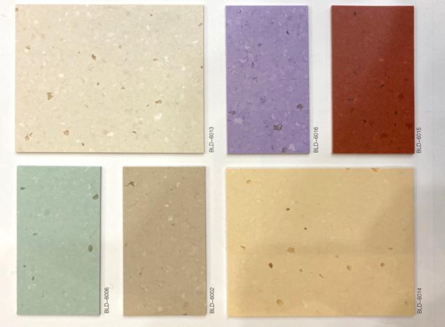 pvc塑膠地板方案
