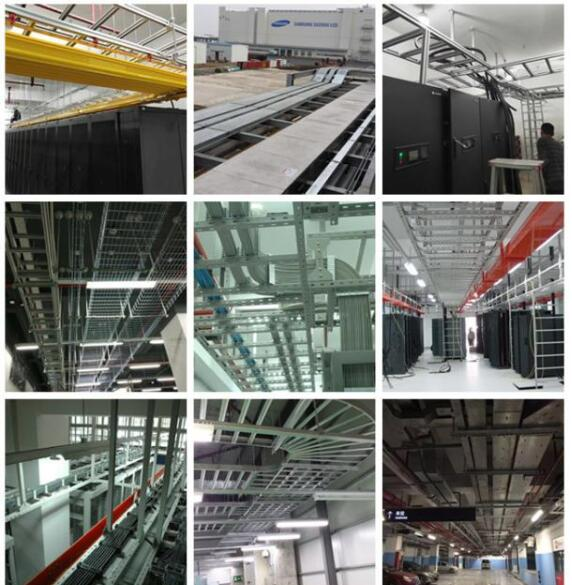云南梯式铝合金桥架工程案例