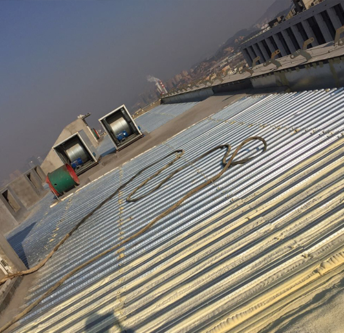 聚氨酯屋面喷涂工艺流程