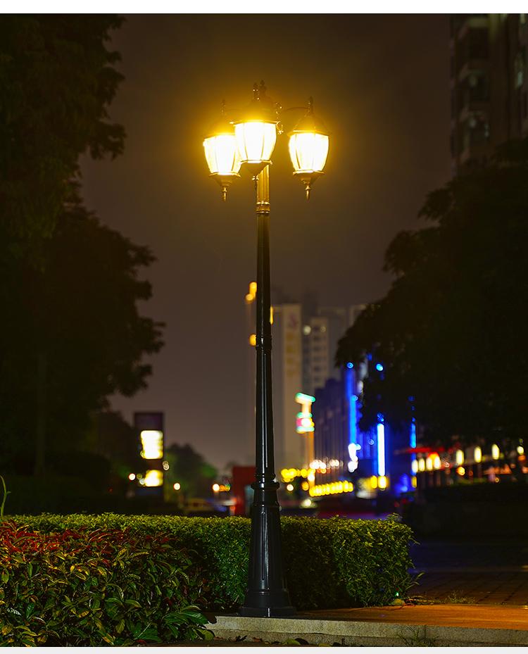 太阳能景观庭院灯