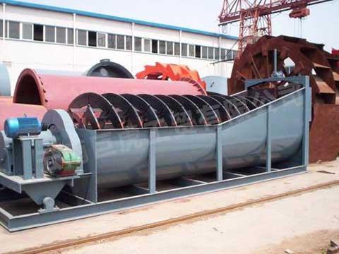 云南螺旋洗砂機械生產