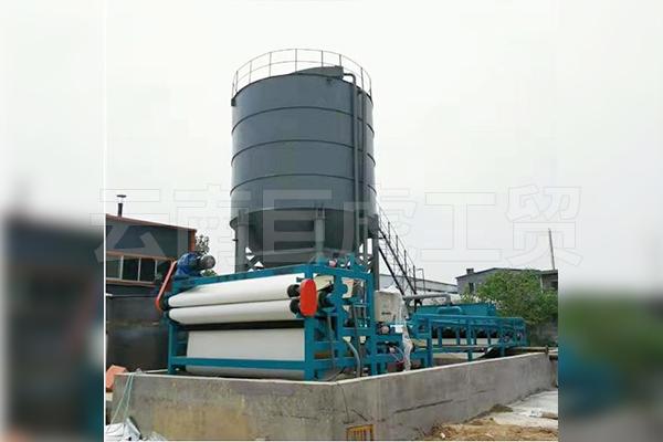 带式脱水压滤机
