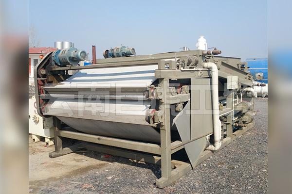 带式淤泥压滤机