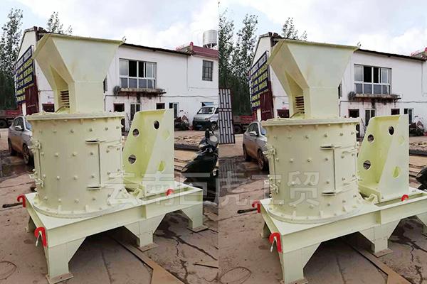 个旧立轴冲击鹅卵石制砂机
