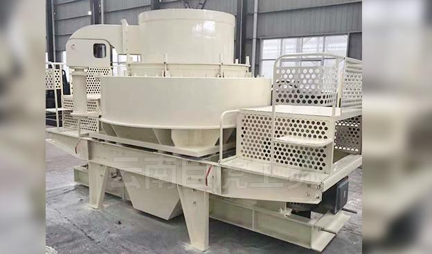 昆明冲击式制砂机厂家给大家讲讲立轴冲击式制砂机有哪些特点?