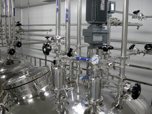 制药设备行业不锈钢排水管项目