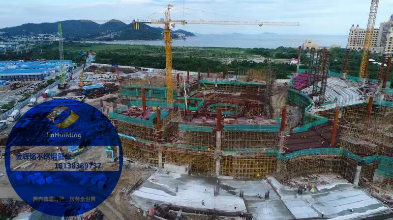 珠海长隆不锈钢水管项目