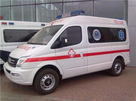 救护车车型上汽大通救护车短轴版