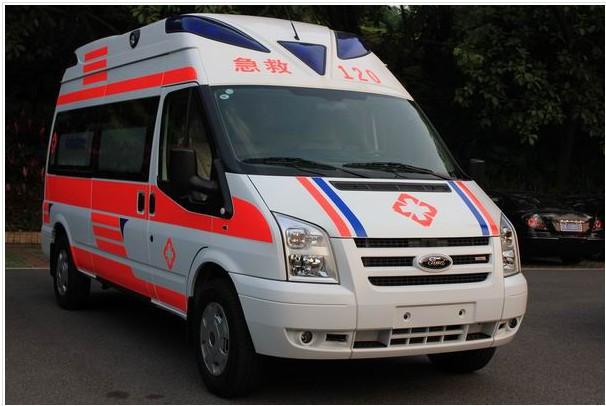 福特救护车出租案例