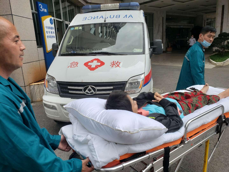云南省第一人民医院骨科病人转至元谋县人民医院康复科康复