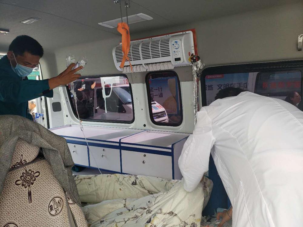 云南省第一人民医院转回昭通彝良