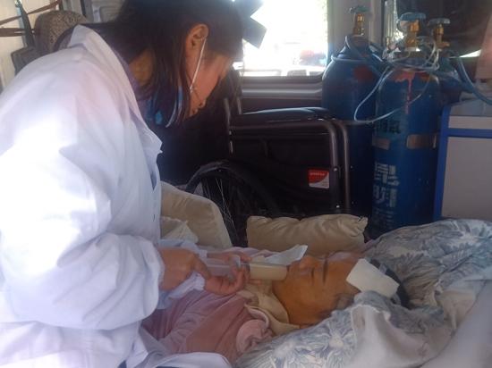 云南省第一人民医院转院至内蒙古赤峰