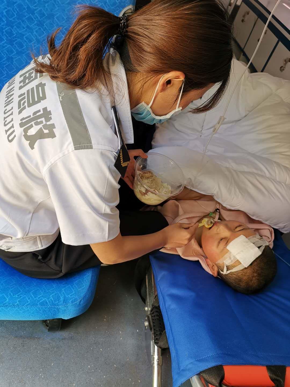 云南省第一人民医院转至北京