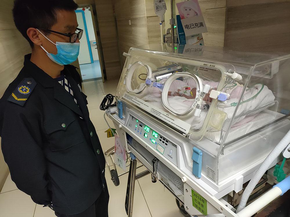 省一医院转运不满一个月早产婴儿儿童医院