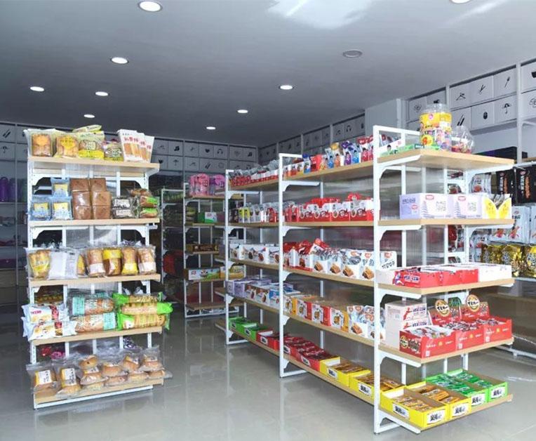 昆明学校超市货架