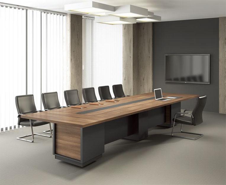 昆明木制板式会议桌