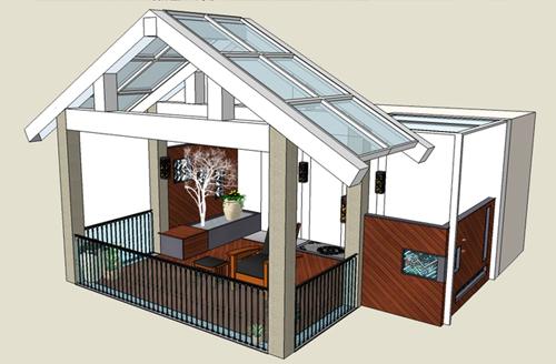 昆明阳光海岸庭院屋顶花园设计方案