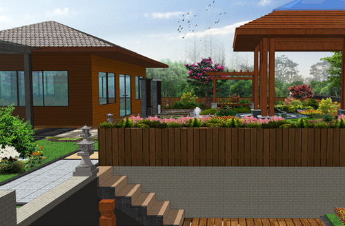香宫国际屋顶花园设计方案