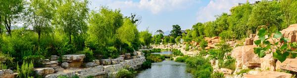 昆明园林景观工程设计应遵循人与自然和谐共处的原则