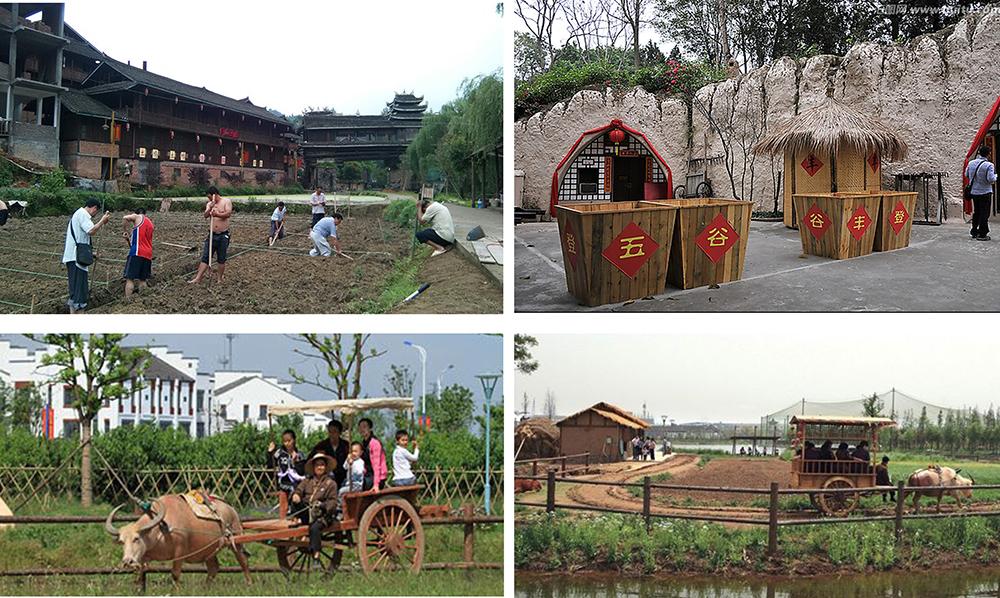 云南安宁佳禾休闲生态庄园景观工程庄园让您体验农耕文化
