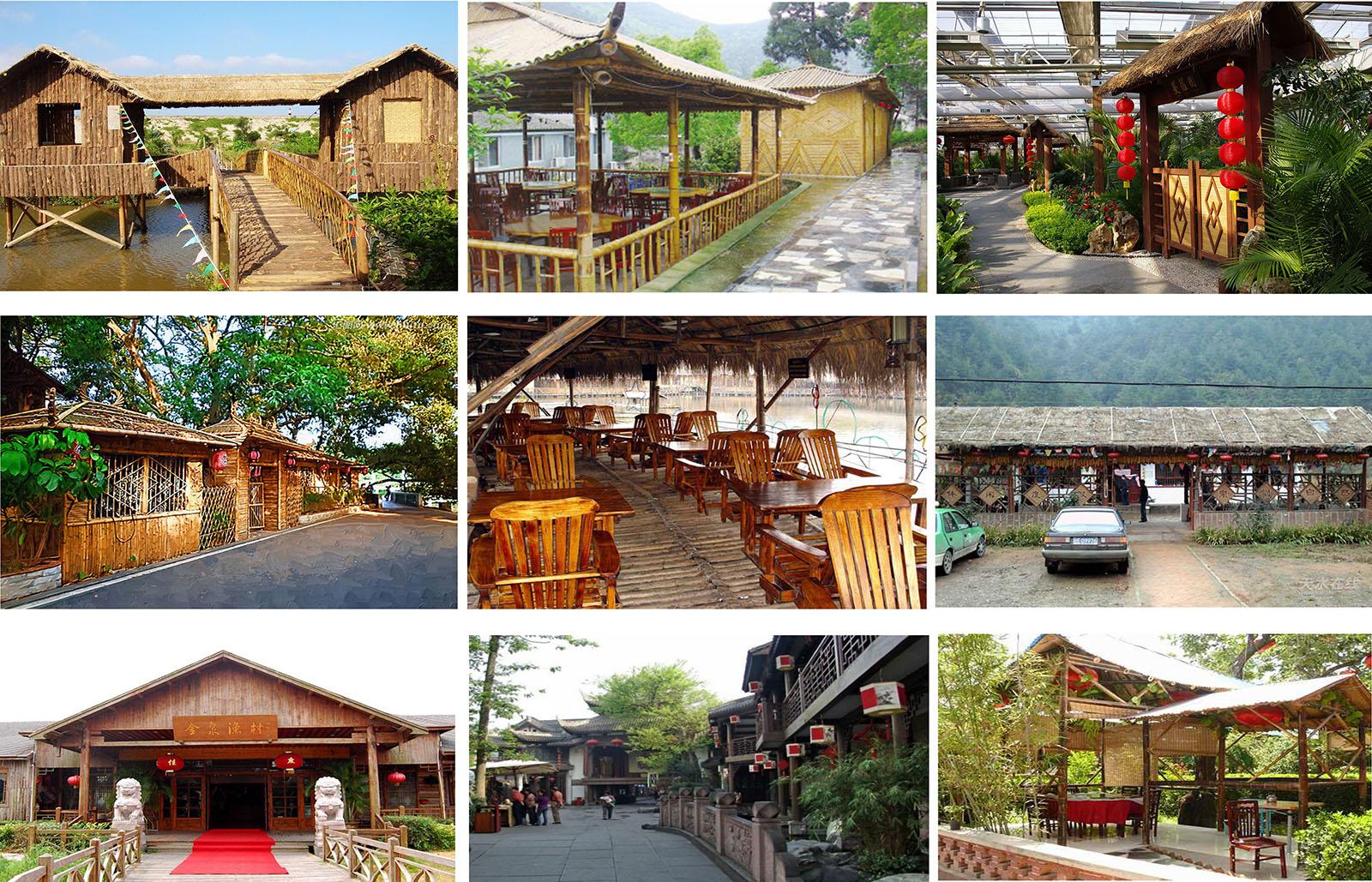 云南安宁佳禾休闲生态庄园景观工程庄园的接待及餐饮住宿