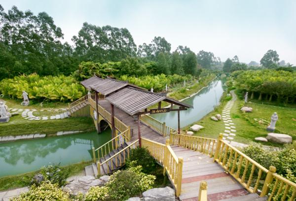 云南安宁佳禾休闲生态庄园各景观规划设计与施工