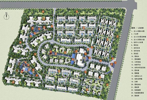 三亚南田温泉度假公寓规划设计方案