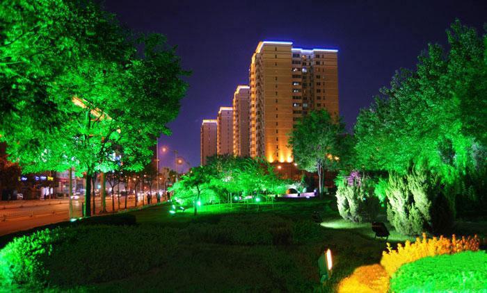 园林景观设计中灯光的作用不容忽视