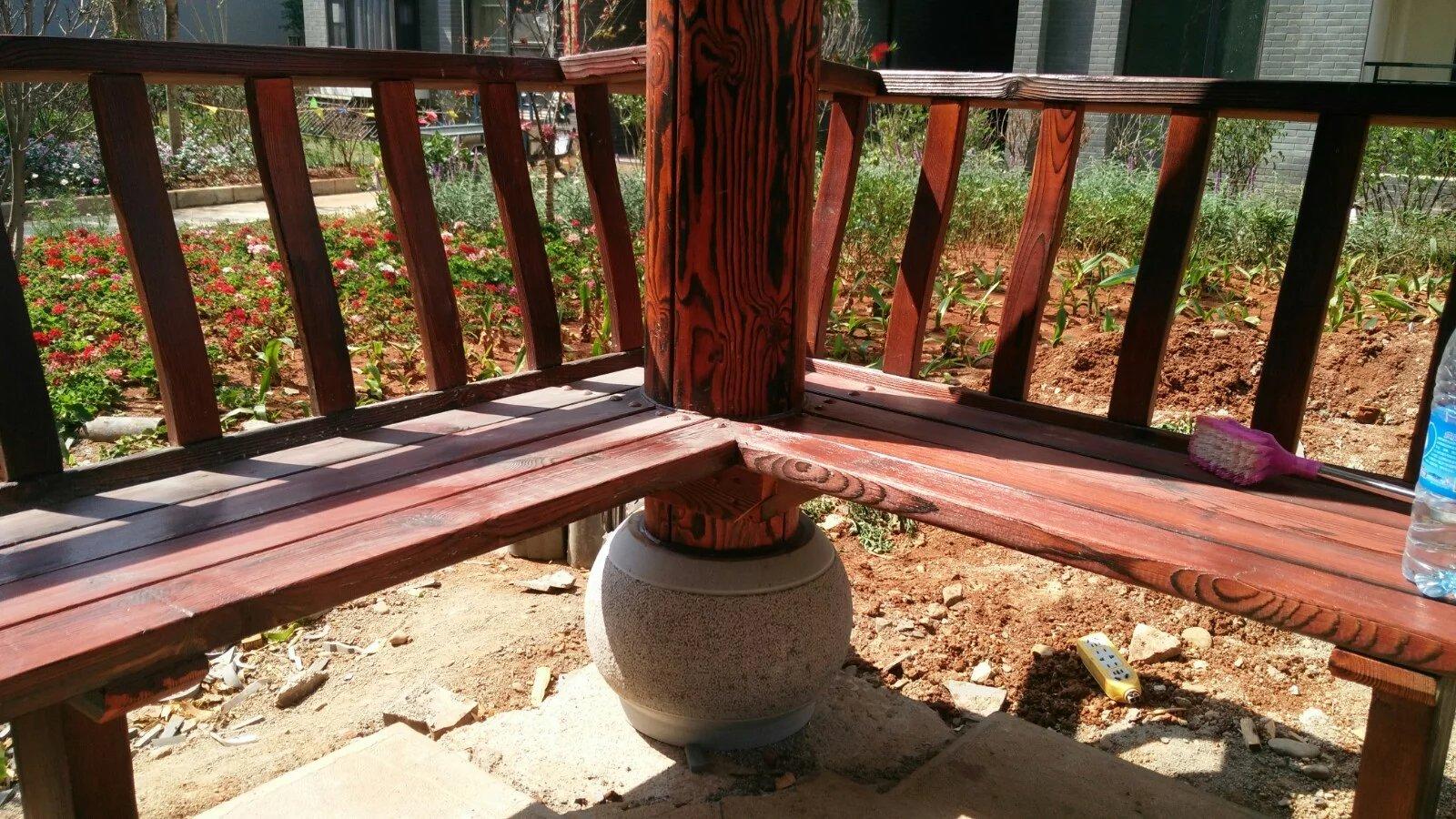 搭建一座防腐木凉亭的工期在多久