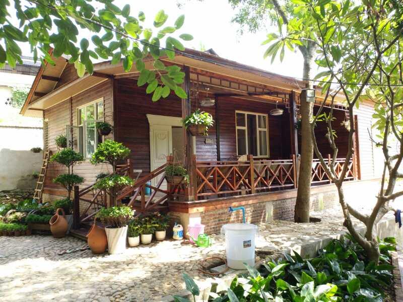 缅甸防腐木木屋