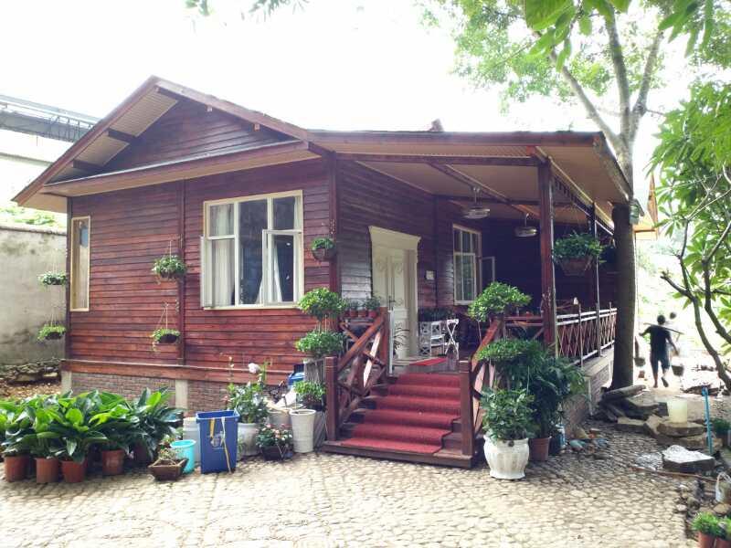 缅甸防腐景观木木屋
