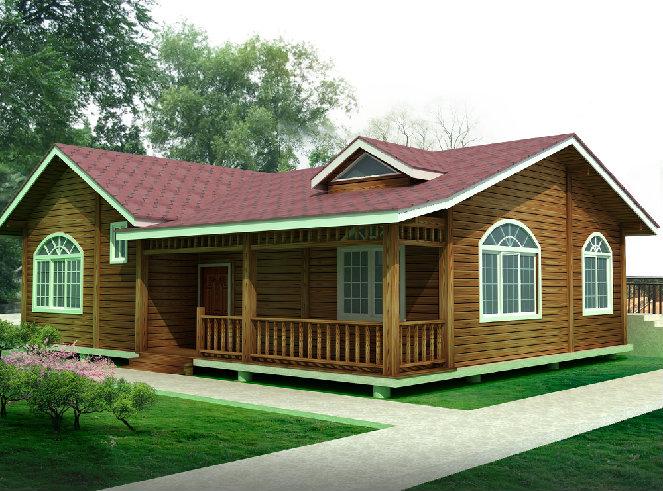舒适性防腐木木屋