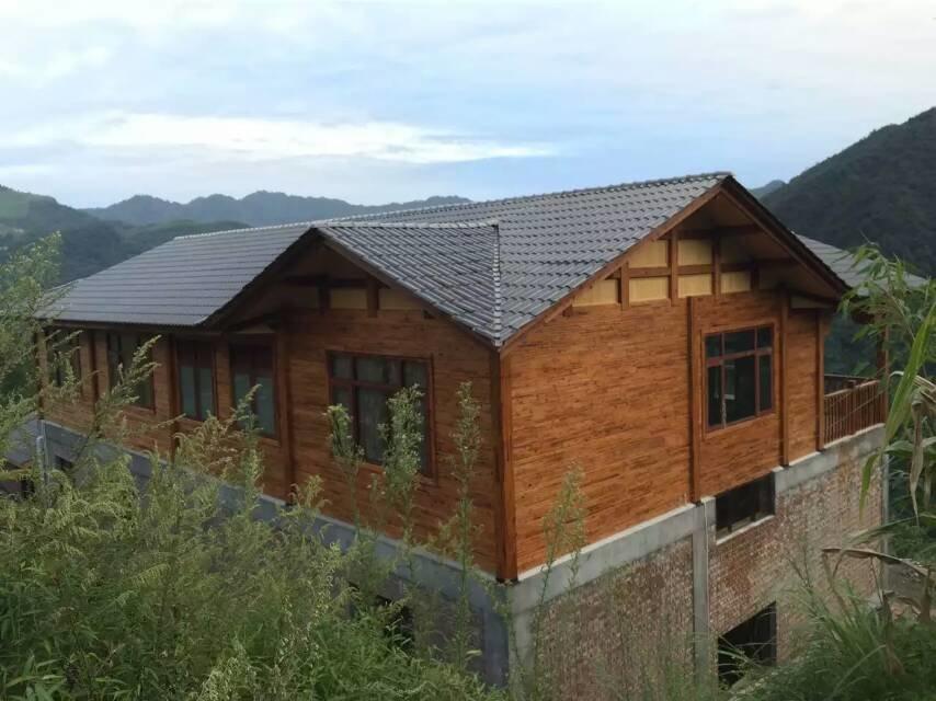 天然防腐木木屋